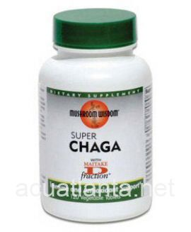 Super Chaga 120 vegetable tablets