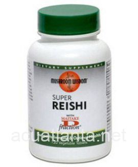 Super Reishi 120 vegetable tablets
