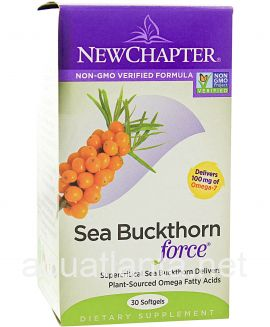Sea Buckthorn Force 60 soft gels