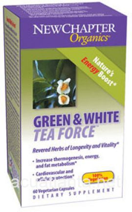 Green & White Tea Force 60 veggie capsules