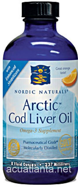 Arctic Cod Liver Oil 16 fluid oz Orange