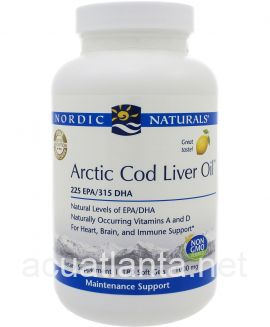 Arctic Cod Liver Oil 180 soft gelcaps Lemon