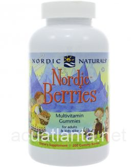 Nordic Berries 120 gummy berries Citrus