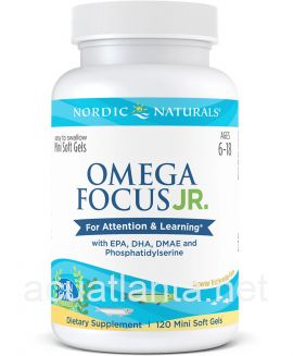 Omega Focus Junior 120 soft gels