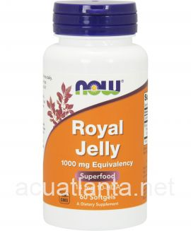 Royal Jelly 60 soft gels 1000 milligrams