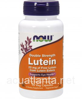 Lutein, Double Strength 90 veggie capsules 20 milligrams