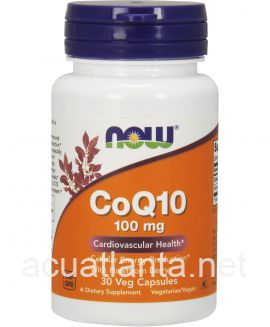 CoQ10 with Hawthorn Berry 30 veggie capsules 100 milligrams