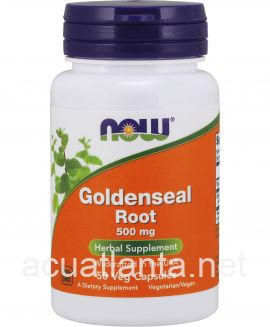 Goldenseal Root 50 capsules 500 milligrams