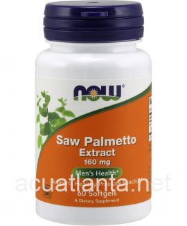 Saw Palmetto Extract 60 soft gels 160 milligrams
