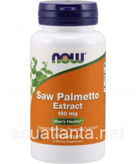 Saw Palmetto Extract 120 soft gels 160 milligrams