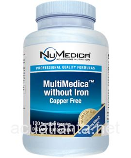 MultiMedica without Iron 120 capsules