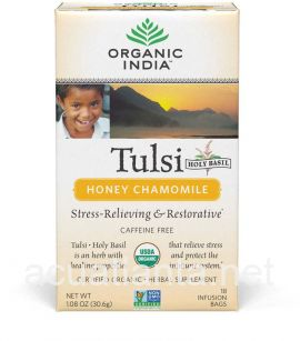 Tulsi Honey Chamomile 18 tea bags
