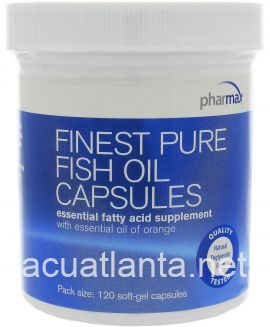 Finest Pure Fish Oil Capsules 120 capsules