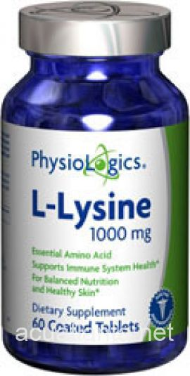 L-Lysine 60 count 1000 milligrams