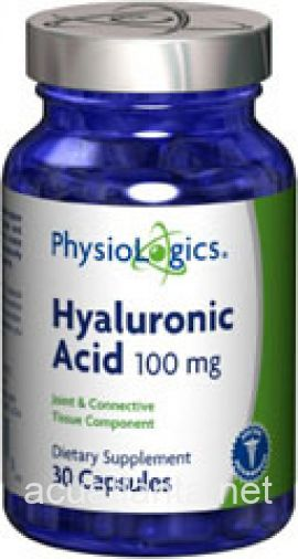 Hyaluronic Acid 30 capsules 100 milligrams