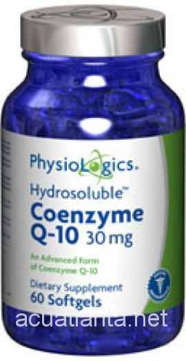 CoQ10 (Hydrosoluble) 60 gelcaps 30 milligrams