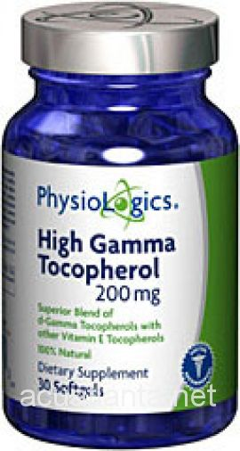 High Gamma Tocopherol 30 gelcaps