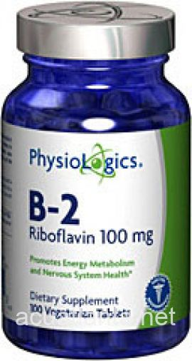 B-2 Riboflavin 100 count 100 milligrams