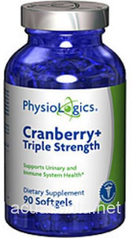 Cranberry + Triple Strength 90 gelcaps