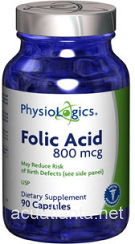 Folic Acid 90 capsules 800 micrograms