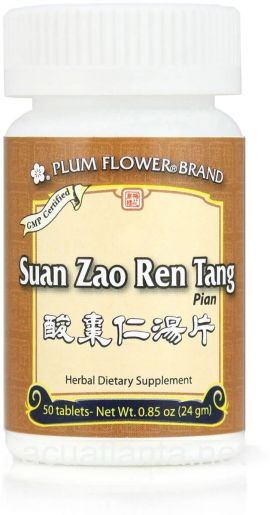 Suan Zao Ren Tang Tablets 50 tablets