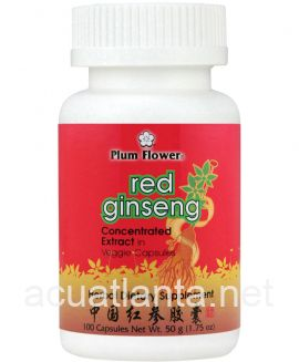 Red Ginseng Capsules 100 capsules