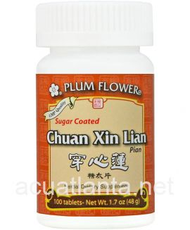 Chuan Xin Lian Tablets 100 tablets Sugar Coated