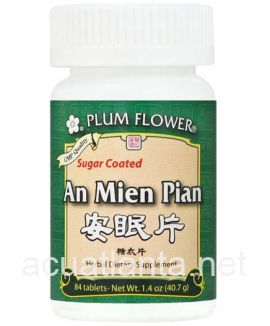 An Mien Pian Tablets 84 tablets Sugar Coated