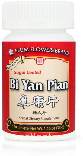 Bi Yan Pian Sugar Coated 120 count
