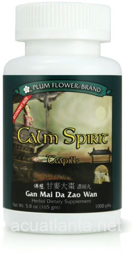 Calm Spirit Teapills 1000 count