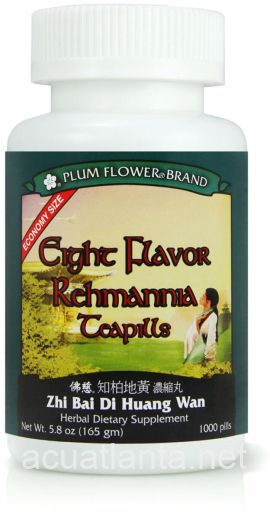 Eight Flavor Rehmannia Teapills 1000 count