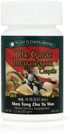The Great Invigorator Teapills 200 teapills