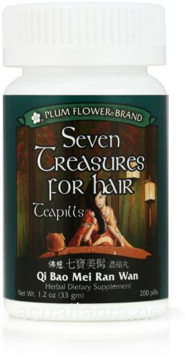 Seven Treasures For Hair 200 count