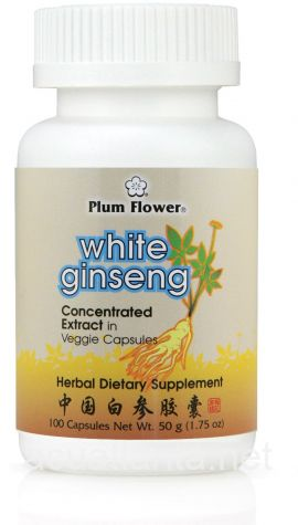 White Ginseng 100 capsules