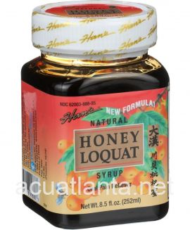 Hans Honey Loquat Syrup 8.5 oz 252 milliliters