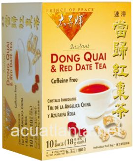 Dong Quai & Red Date Tea 10 tea bags