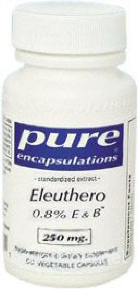 Eleuthero 0.8% E and B 60 soft capsules 250 milligrams