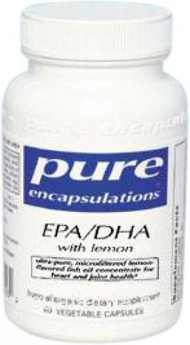 EPA/DHA with Lemon 60 soft gelcaps 900 milligrams