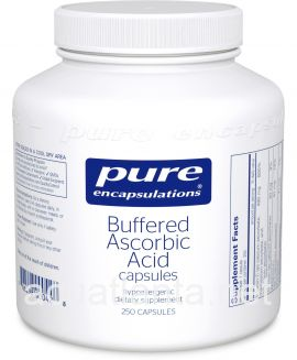 Buffered Ascorbic Acid Capsules 250 veggie capsules