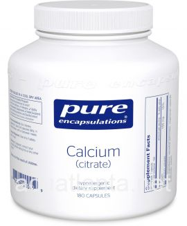Calcium (Citrate) 180 soft capsules 150 milligrams