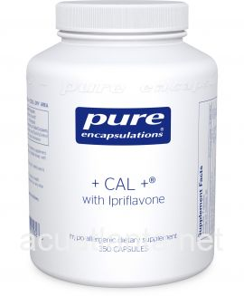 Cal + with Ipriflavone 350 capsules