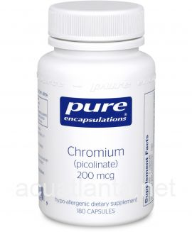 Chromium Picolinate 180 soft capsules 200 micrograms