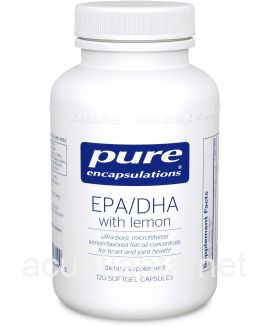 EPA/DHA with lemon 120 soft gelcaps 900 milligrams