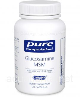 Glucosamine/MSM with joint comfort 60 veggie capsules
