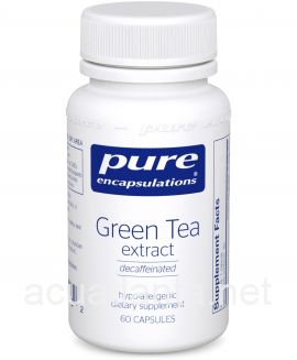 Green Tea Extract (decaffeinated) 60 veggie capsules 100 milligrams