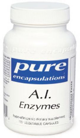 A.I. Enzymes 120 soft capsules