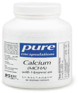 Calcium (MCHA) with magnesium 180 soft capsules