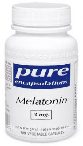Melatonin 180 soft capsules 3 milligrams