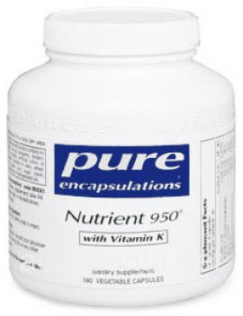 Nutrient 950 with Vitamin K 180 soft capsules