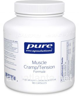 Muscle Cramp/Tension Formula 180 vegetable capsules